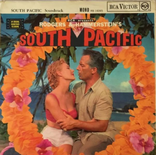 V/A ‎- Rodgers & Hammerstein's South Pacific: Original Soundtrack (LP) (VG/G+)